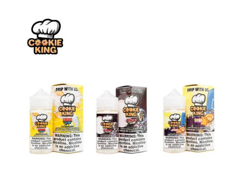 Cookie King E-Juice 100mL (Sweep Out Sale) - Vaporider