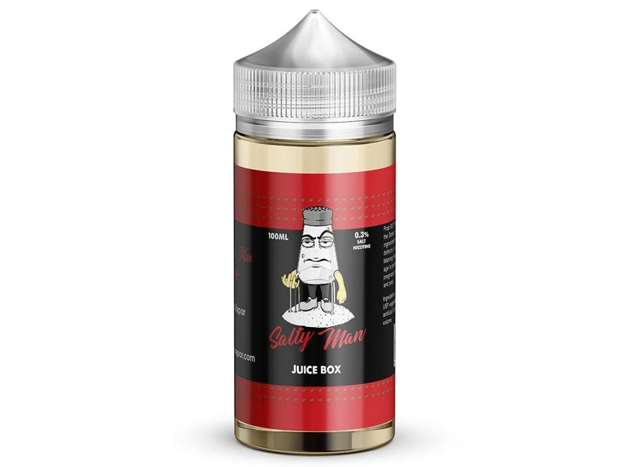 Salty Man 30mL 5% Nicotine Salt E-Liquid - Juice Box (Juiced Apple) - Vaporider