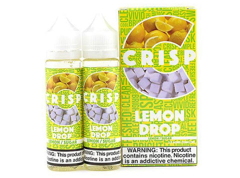 Crisp 60mL/120mL E-Juice by Cosmic Fog - Lemon Drop - Vaporider