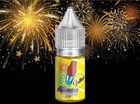 The Fourth Nicotine Salt 30mL E-Liquid - Vaporider