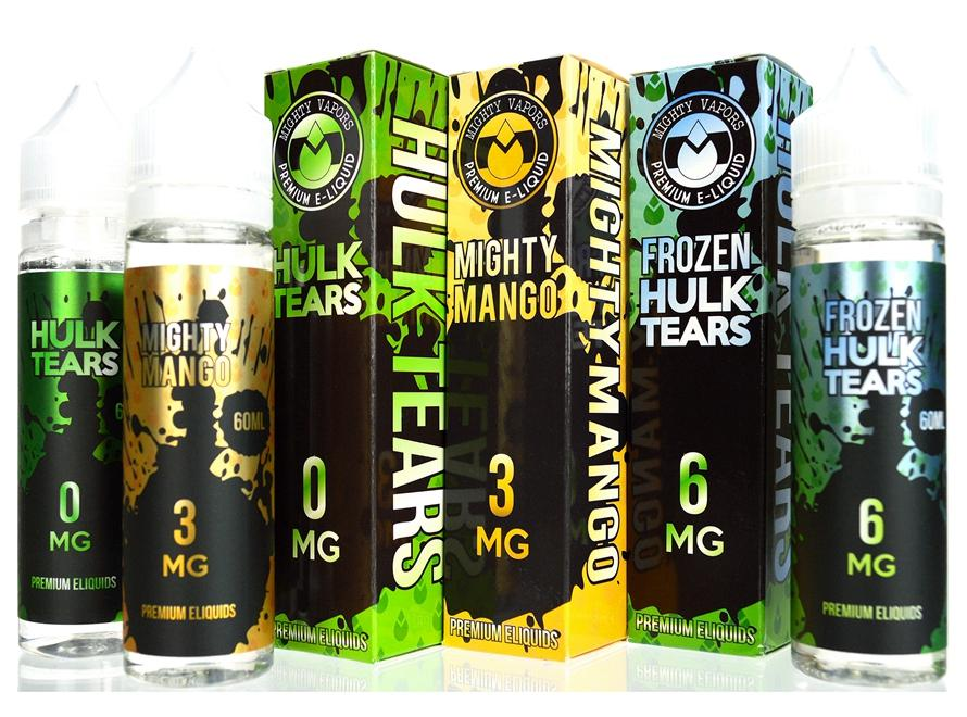 Mighty Vapors 60mL Premium E-Juice - Vaporider