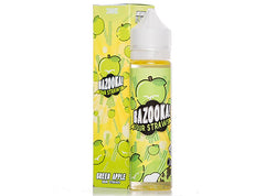 Bazooka Sour Straws 60mL/100mL - Green Apple (New Look, Same Great Flavor) - Vaporider