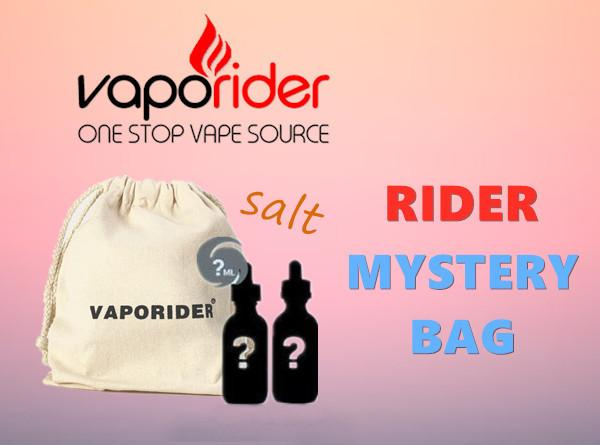 Rider Mystery Bag -Salt (2 Bottle Box) - Vaporider
