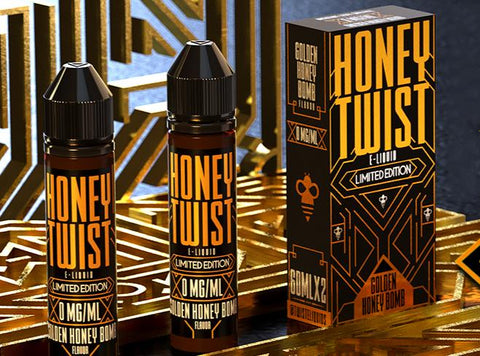 Honey Twist E-Liquid 60ML/120ML - Vaporider