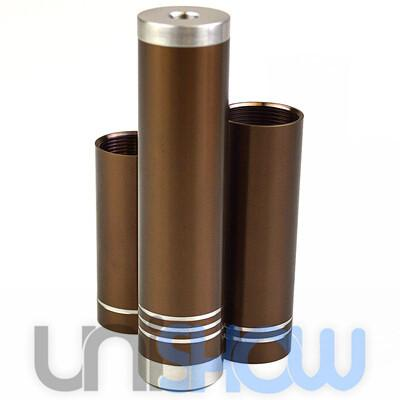 Luxe Chocolate Mechanical Mod Clone (3-Tube Set) - VapoRider