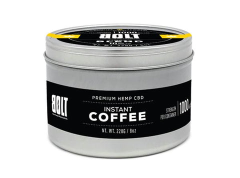 Bolt CBD Instant Coffee 1000mg/8oz
