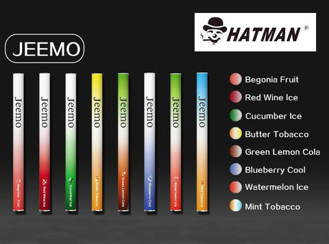Hatman - Jeemo Disposable e-Cigarette - Vaporider
