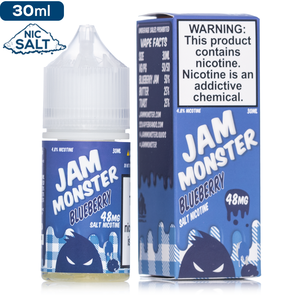 Jam Monster 30ml Nic Salt E-Juice - Vaporider