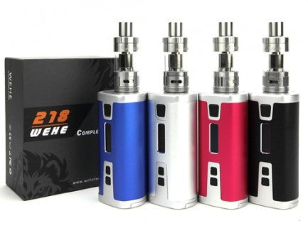 Sigelei WEHE 218 Triple 18650 218W TC & X-Tank Starter Kit (Sweep Out Sale) - Vaporider