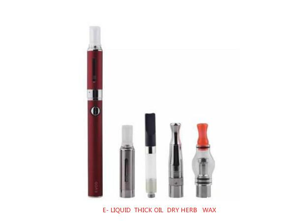 Subtech EVOD 4-in-1 Vaporizer Starter Kit E-Liquid/Dry Herb/Wax/Thick Oil - Vaporider
