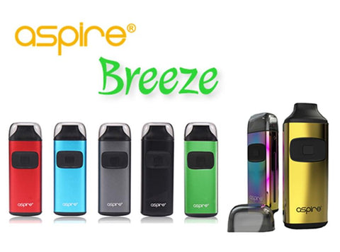 Aspire Breeze All-in-One Starter Kit (New Colors!) - Vaporider