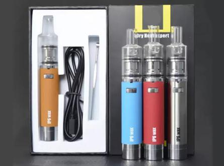 IP6 900mAh Ceramic Wax Vaporizer Pen Kit with Built-In Silicone Container (Kit Deals) - Vaporider