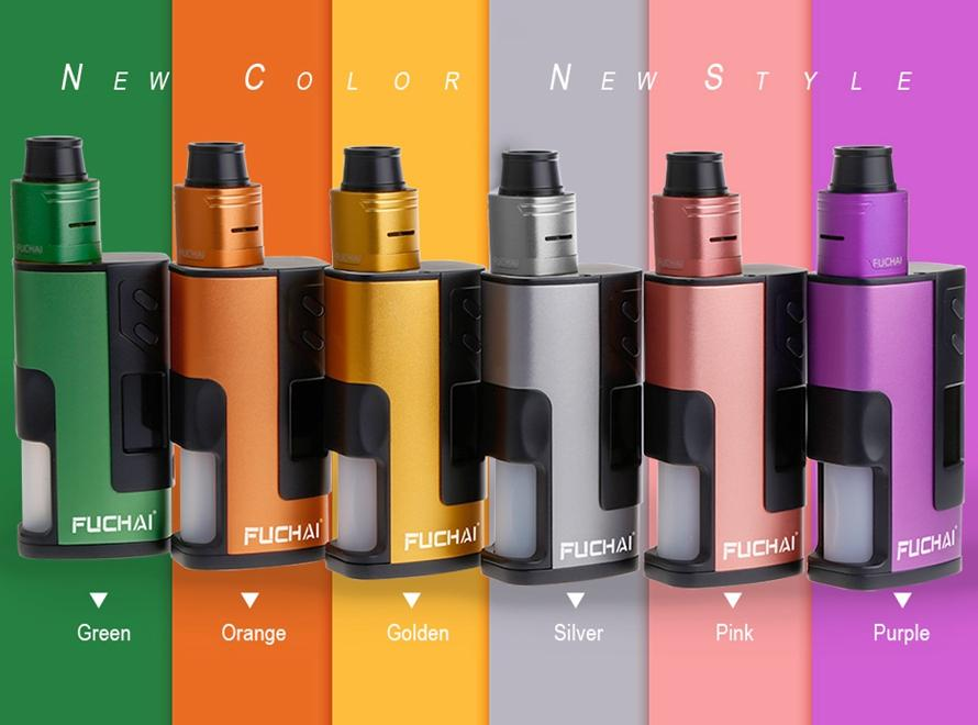 Sigelei Fuchai Squonk 213 150W TC 21700/20700/18650 Starter Kit with Battery - Vaporider