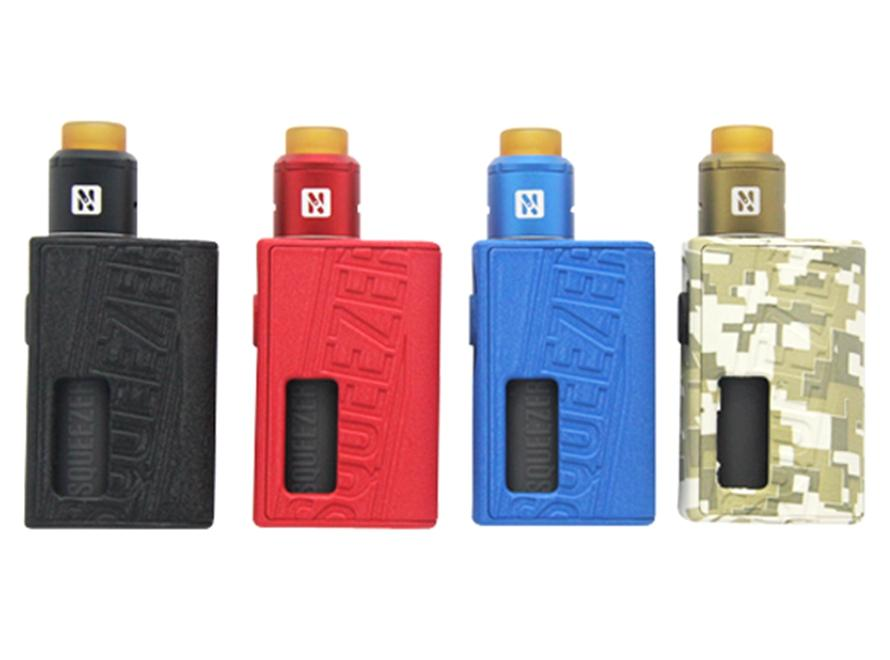 Hugo Vapor Squeezer 18650/20700 BF Squonk Mechanical Mod & N RDA Kit (New Camo Color!) - Vaporider