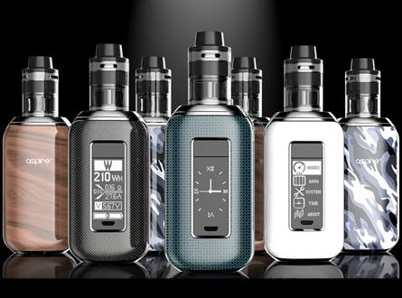 Aspire SkyStar Revvo 210W TC Touch Screen Kit - Vaporider