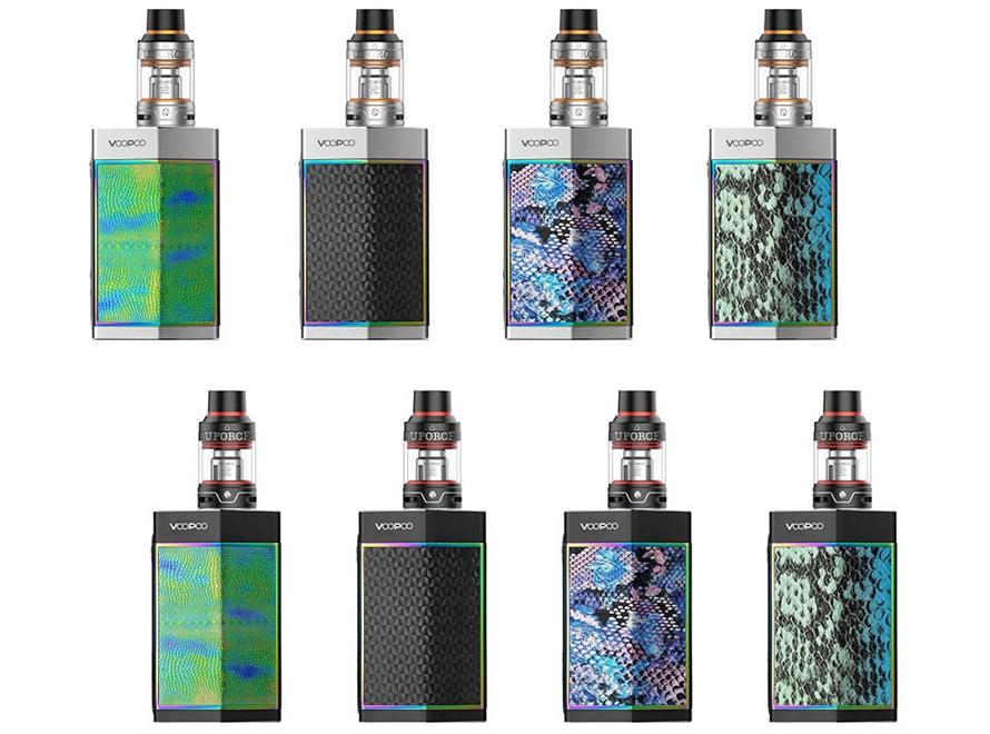 VOOPOO TOO Gene Chip 180W TC & UFORCE Sub-Ohm Tank Starter Kit