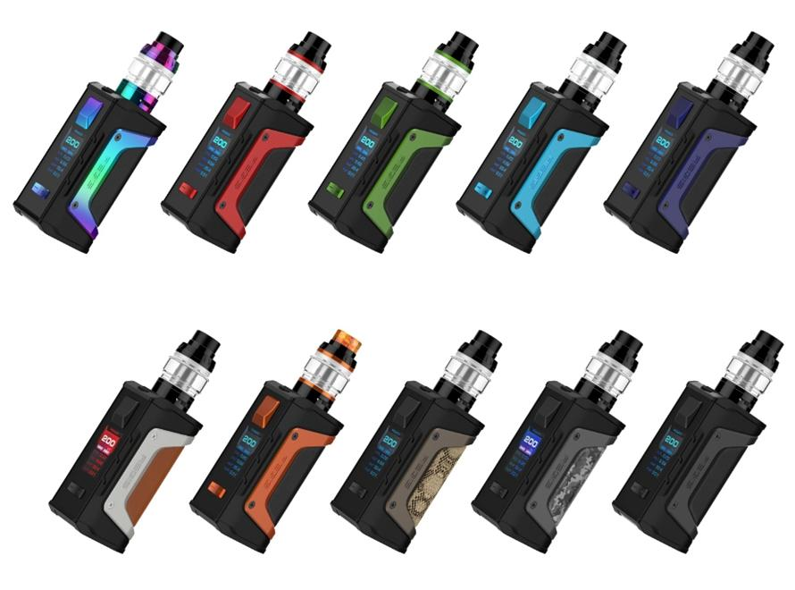 Aegis Legend 200W Kit with Aero Mesh Tank By Geek Vape - Vaporider