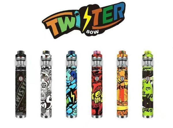 FreeMax Twister 80W VW Kit with Fireluke 2 Tank - Vaporider