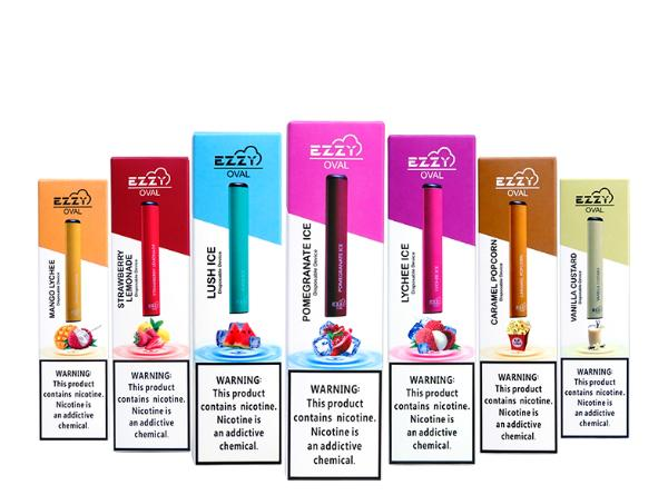 EZZY Oval Disposable E-Cigarette - Vaporider