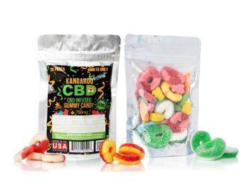 Kangaroo CBD Gummies Mixed Party Bag 750MG - Vaporider