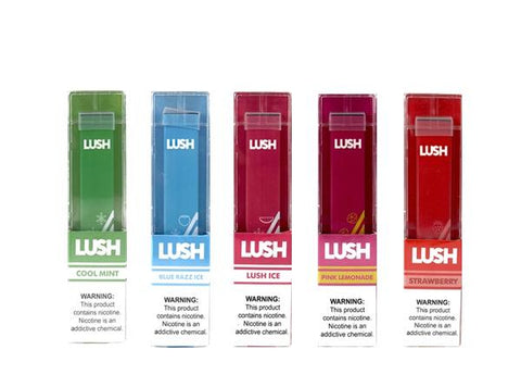 LUSH Disposable E-Cig (Buy One Get One Free) - Vaporider