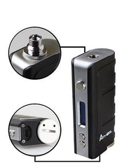 Authentic Atmos i50TC-J 50W 2600mAh Temp Control Mod - Vaporider