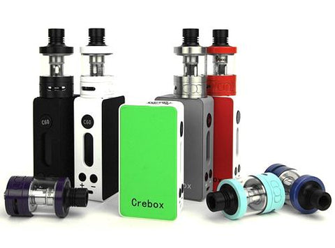 Crebox C60 60W TC Mini Box Mod - Vaporider
