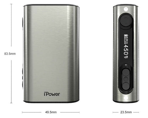 Eleaf iPower 80W 5000mAh TC Box Mod (Sweep Out Sale) - Vaporider