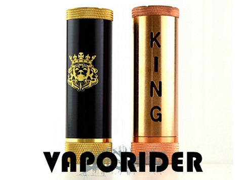 King V5 26650 Style Mechanical Mod - Vaporider