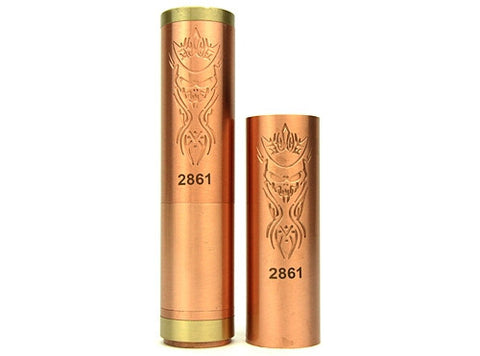 Copper Akuma Style Mechanical Mod - VapoRider