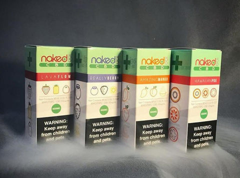 Naked 100 CBD 600MG - VRHemps