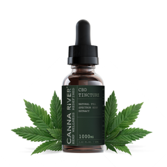 Canna River Full Spectrum 60ML CBD Tincture - Vaporider