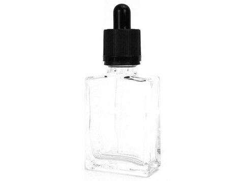 30mL Clear Glass Dropper Bottle