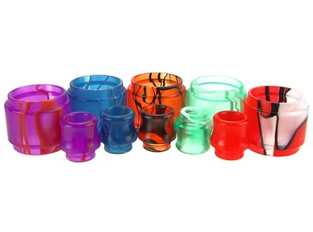 Resin Tube & Drip Tip Kit for SMOK TFV12 Prince Tank - Vaporider