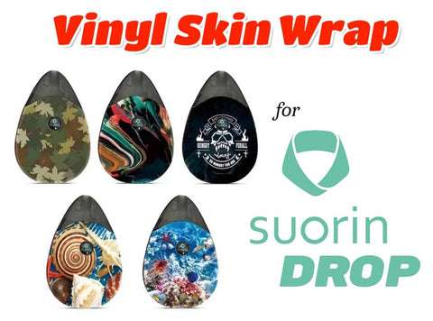 Vinyl Skin Wrap Sticker for Suorin Drop All-In-One Starter Kit - Vaporider