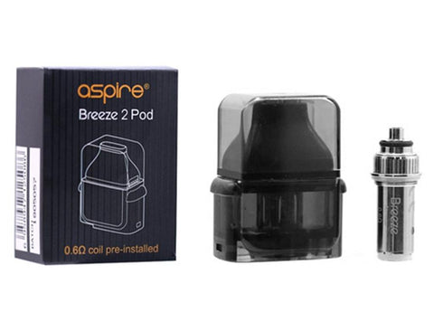 Aspire Breeze 2 Pod with 0.6Ω Coil - Vaporider