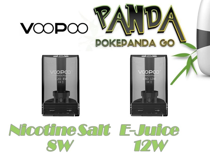VOOPOO PANDA Pod for Nicotine Salt/E-Juice (Single Pack) - Vaporider