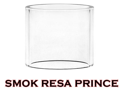 Clear 5mL Pyrex Glass Tube for SMOK Resa Prince Tank - Vaporider