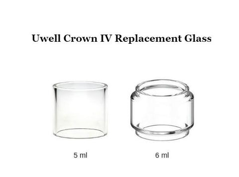 Uwell Crown IV Replacement Glass Tube (1PC) - Vaporider