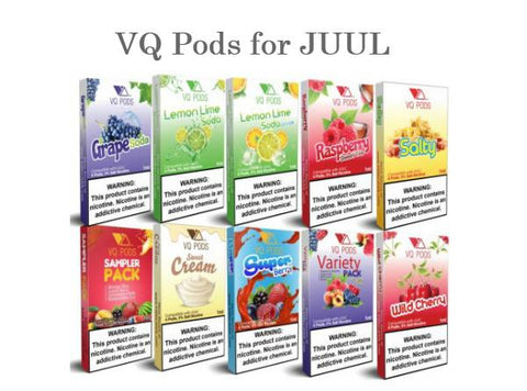 VQ Pods Compatible with JUUL - Vaporider