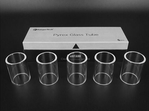 Pyrex Glass Tube For Kanger Subtank Plus (1pc) - Vaporider