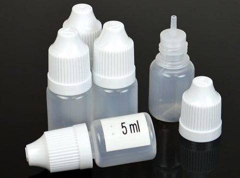 5ml E-Liquid Dropper Bottle (Set of 10) - VapoRider