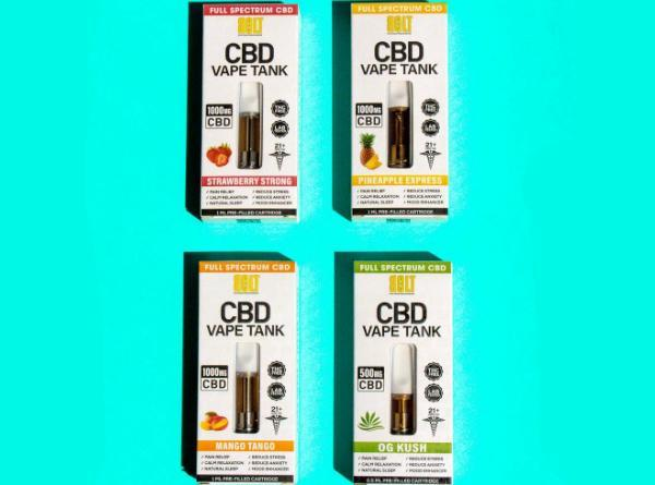 Bolt CBD Vape Cartridge - Vaporider