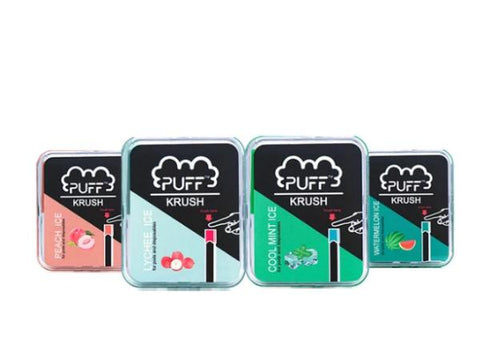 Puff Krush 0% Nicotine Add-On Pods (4pcs) - Vaporider