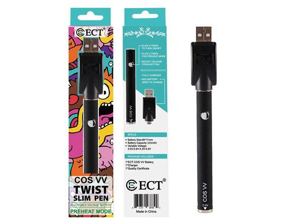 ECT COS VV Twist Slim Pen - Vaporider