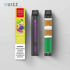 QUIZZ NICPEN 5% Dual Flavors Switch Disposable Vape Pen