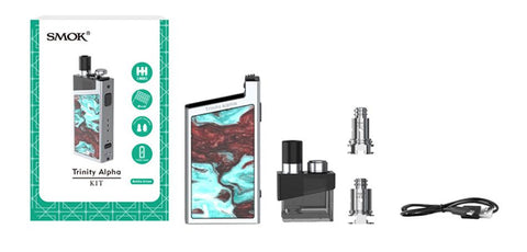 SMOK Trinity Alpha Resin Pod Kit - Vaporider