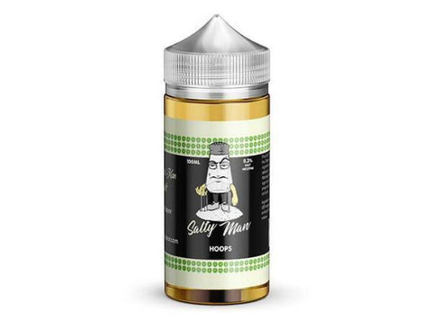 Salty Man 30mL 5% Nicotine Salt E-Liquid - Hoops