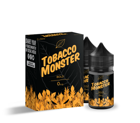 Tobacco Monster 60ML E-Juice by Jam Monster