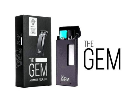The GEM Portable Charging Case Power Bank for JUUL
